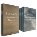 Burkitt's Expository Notes on the New Testament + Sermons and Commentaries of Thomas Manton 7 Vol.