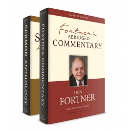 Fortner's Commentary and The Sermon Anthology