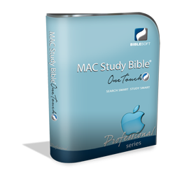 OneTouch MAC Study Bible Professional Series Upgrade