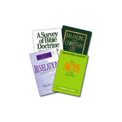 Charles Ryrie Collection (4 volumes)