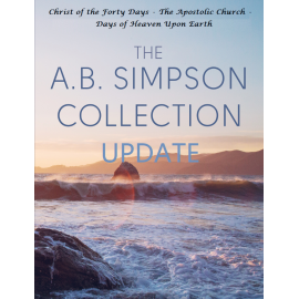 A. B. Simpson collection update - 3 volumes
