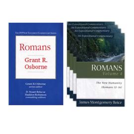 Romans Commentary VALUE bundle - 2-pack (4 volumes)