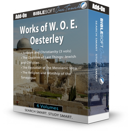 W. O. E. Oesterley collection: Judaism and the New Testament