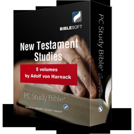 New Testament Studies, by Adolf Harnack
