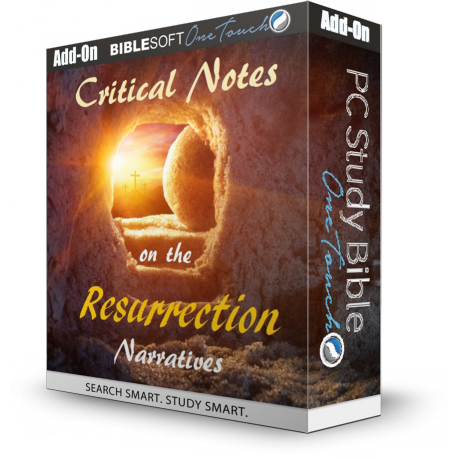 Critical Notes on the Resurrection Narratives