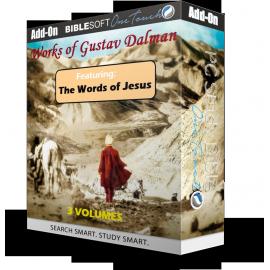 Works of Gustav Dalman - 3 volumes