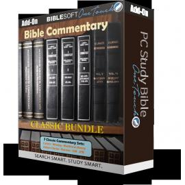 Bible Commentary Bundle - 7 Classic sets