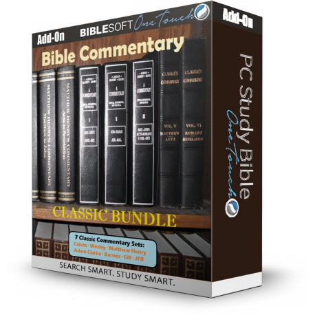 Bible Commentary Bundle - 7 Classic sets
