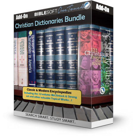 Christian Dictionary and Encyclopedia Bundle