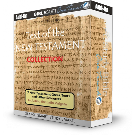 Text of the New Testament Collection - Texts and Resources