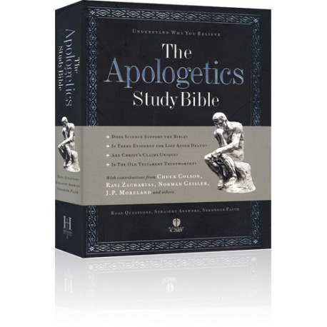 The Apologetics Study Bible (with BONUS Berean Bible)