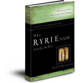 The Ryrie Study Bible (with BONUS Berean Bible)