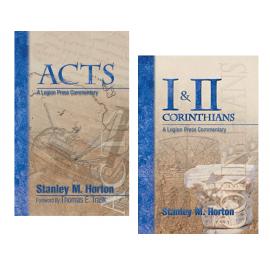 Acts & I-II Corinthians (2-vol bundle), by Stanley M. Horton