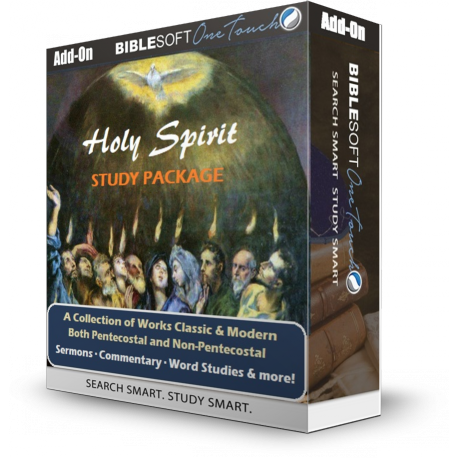 Holy Spirit Study Package - 16 volumes with BONUS images