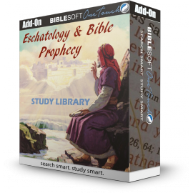 Eschatology and Bible Prophecy Study Library - Add-on product