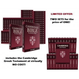 The Cambridge Bible and Greek Testament - Value priced Bundle