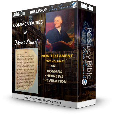 Three New Testament Commentaries by Moses Stuart