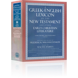 The BDAG Greek Lexicon and ICC Bundle