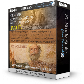 Classic Commentaries and Studies on Paul - 42 volumes