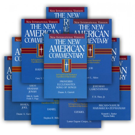 New American Commentary Series - Old Testament Poetic and Prophetic Books (10-volume)