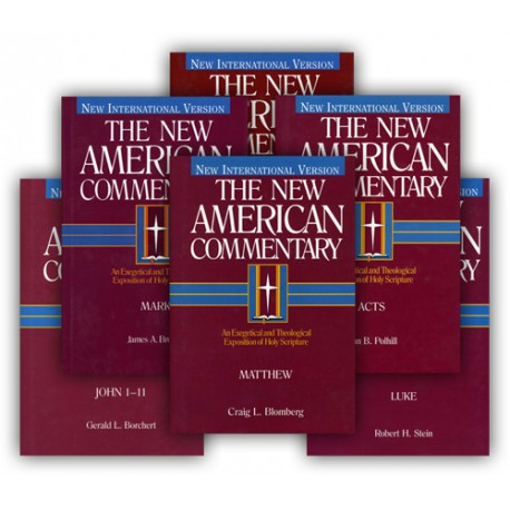 New American Commentary Series - New Testament Gospels and Acts (6-volume)