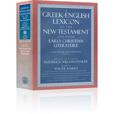 The Greek-English Lexicon of the New Testament (BDAG), 3rd ed.