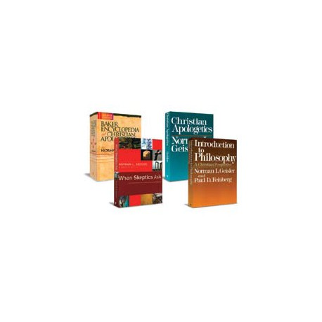 The Geisler Christian Apologetics Collection - 4 Volumes