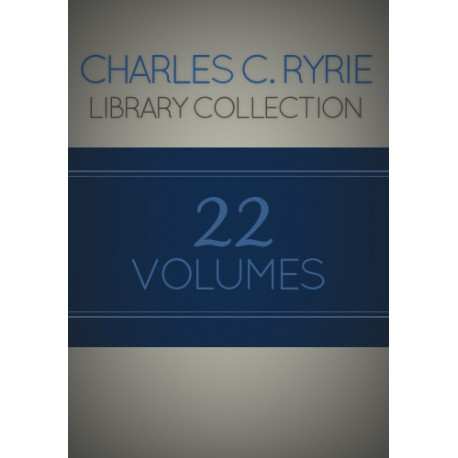 Charles C. Ryrie Library Collection -- 22 Volumes plus 29 Academic Articles