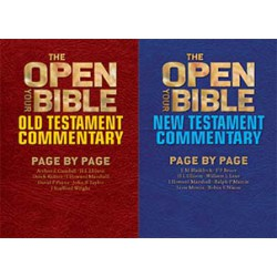Open Your Bible Commentary -- Old and New Testament Volumes