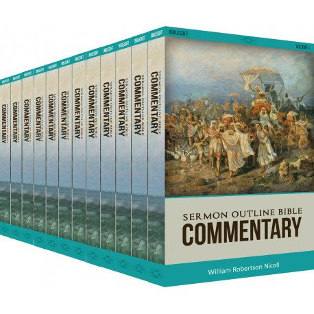 Sermon Outline Bible Commentary - 12 Vols