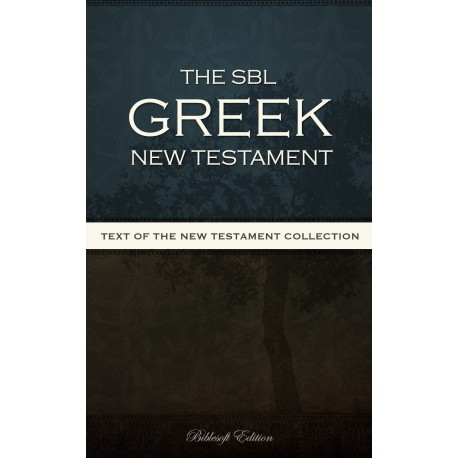 SBL Greek New Testament
