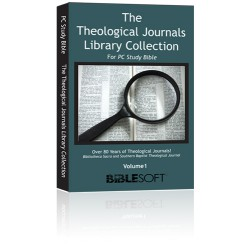 The Theological Journal Collection – Volume 1