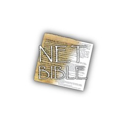 The New English Translation (NET Bible) + Notes