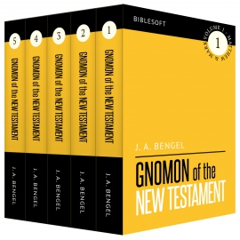 Bengel's Gnomon of the New Testament