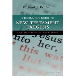 A Beginner's Guide to New Testament Exegesis