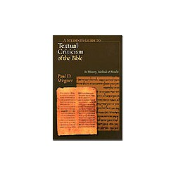 Student's Guide to Textual Criticism
