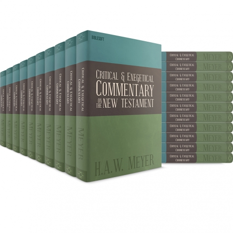Critical and Exegetical Commentary on the NT