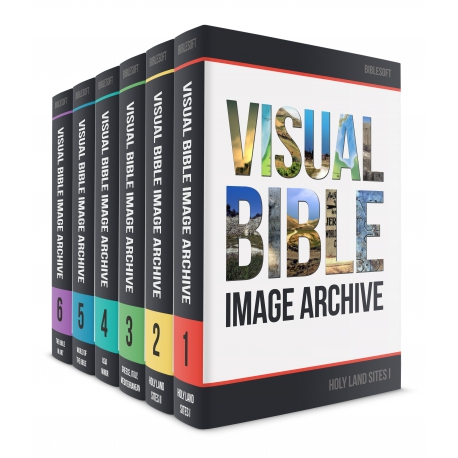 Visual Bible Image Archive - 6 Volumes